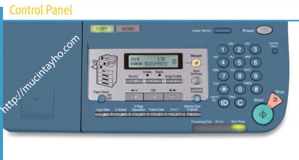 Máy photocopy canon IR2018 báo lỗi E007