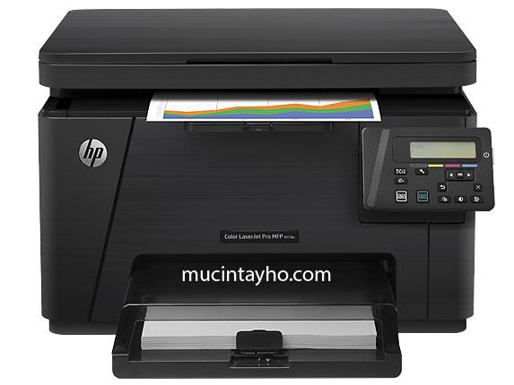Đổ mực máy in màu HP M176n và M177fw